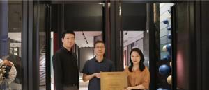 雅琪诺墙布,专卖店荣获中国软装行业百大门店